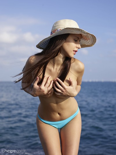 Alisa in Naked Vacation from Hegre Art