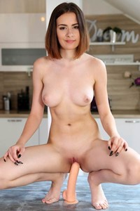 Gorgeous and very sexy girl Scyley Jam naked in Tight Fit