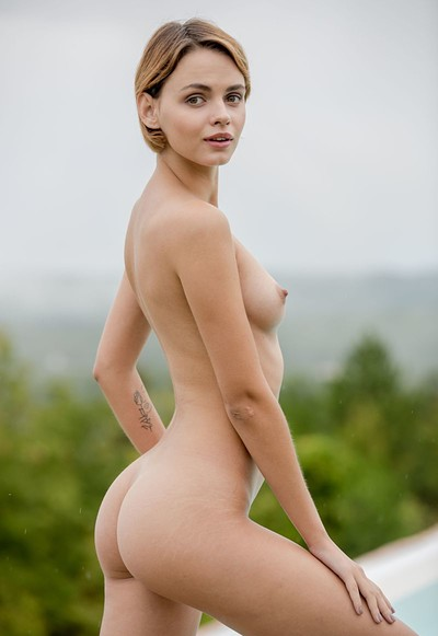 Ariel A in Pool With A View from Femjoy