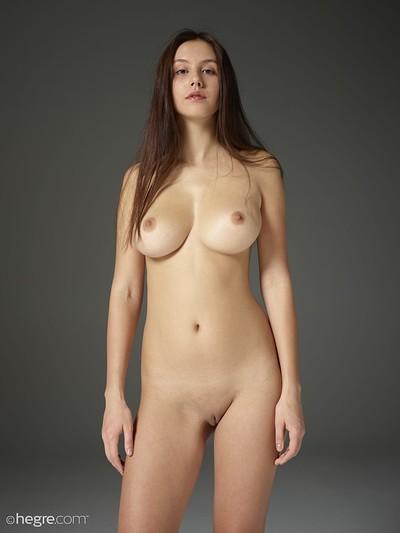 Alisa in Handfuls from Hegre Art