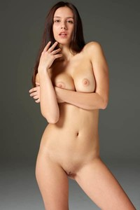 Big titted hottie Alisa teasing with her hot natural body in many different poses