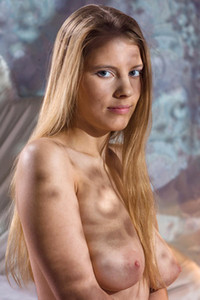 Fantastic my naked dolls beauty Leona C shows her attractive young body in Big & Natural