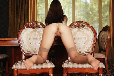 Eos in Legs and Lace from Viv Thomas