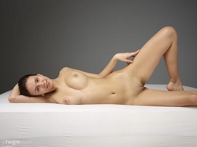 Alisa in Beauty In Bed from Hegre Art