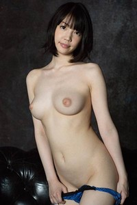 Smoking babe Koharu Suzuki posing in Puffy Tit Pastry