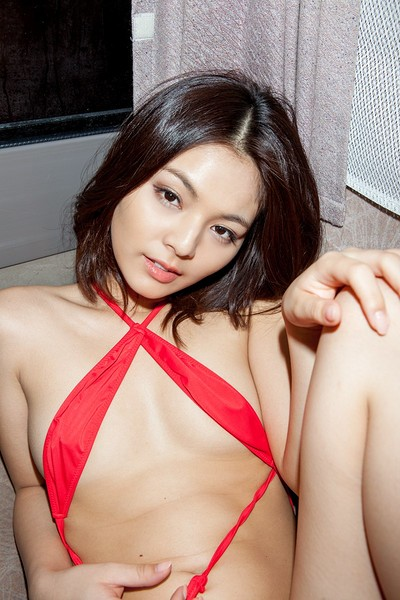 Tsubasa Akimoto in Love For Sale from All Gravure