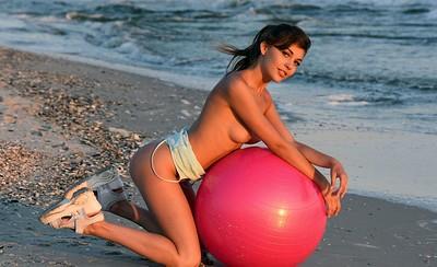 Monika in Beach Fitness 2 from Showy Beauty