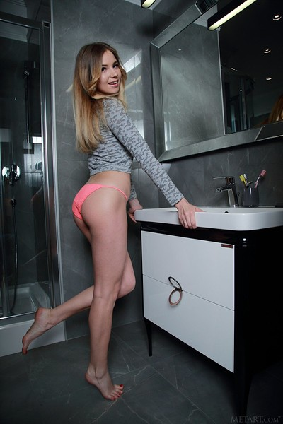 Lola Krit in Bathing Beauty from Met Art