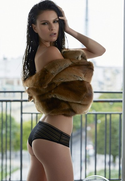 Paulini in Pet Of The Month May 2016 from Penthouse