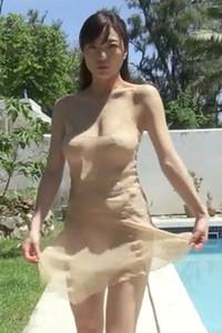 Graceful allgravure girl Nana Hiratuka nude in Bien Scene 1