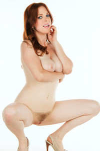 Graceful hottie Penny Pax sensually poses in The Silent Academy
