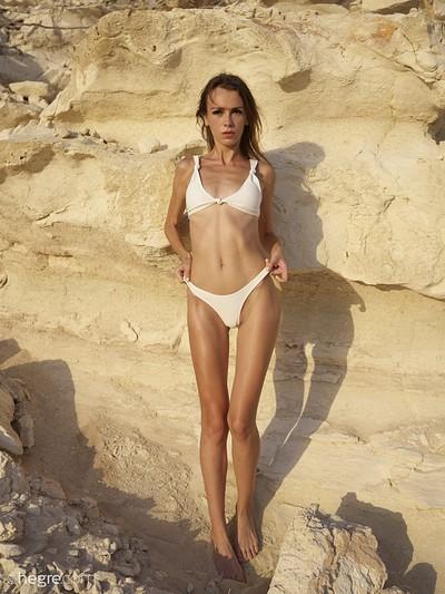 Alice in Sandstone from Hegre Art