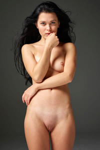 Smoking hot black haired goddess Belle dazzles us with her perfect figure