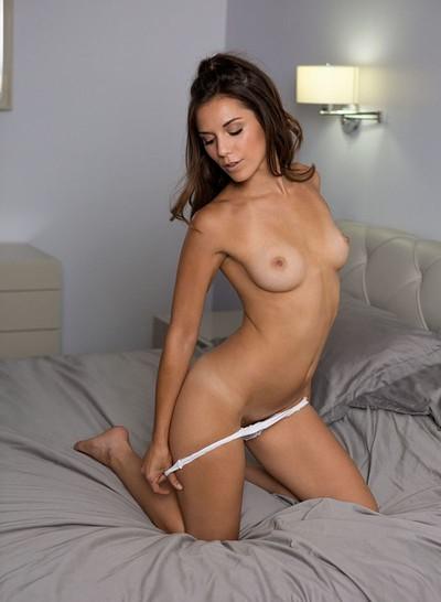 Elena Generi in Stirring Silver from Playboy