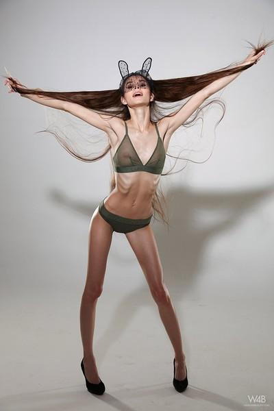 Leona Mia in Skinny Girl from Watch 4 Beauty