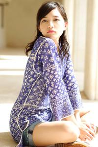 All natural stunner Haruna Kawaguchi delights us in Sunset Beauty