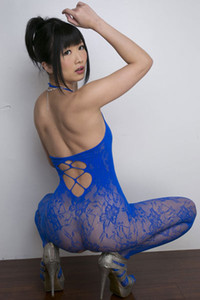 Gorgeous vixen Hibiki Ohtsuki gets naked and shows her mind-blowing sex appeal in Body Stocking