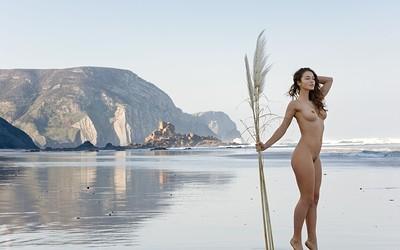 Vika A in Feel The Breeze from Femjoy