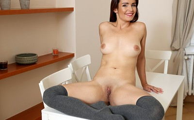 Nathaly Spark in Cum In The Kitchen from Nubiles