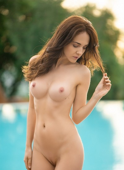 Bianka Helen in Poolside Relaxation from Playboy