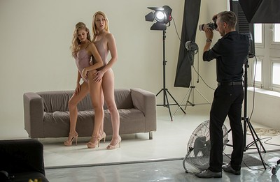 Tiffany Tatum and Amaris in Sex and Fashion A Threeway Project from X Art