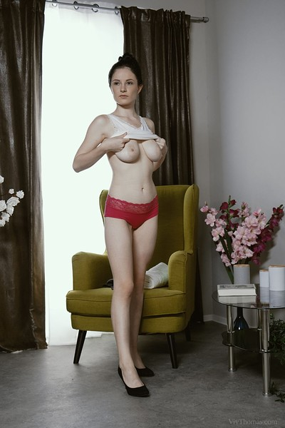 Angel Princess and Sabrisse in Slippery Nipple from Viv Thomas