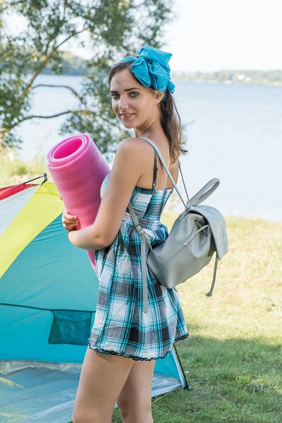 Oxana Chic in Camping from Met Art