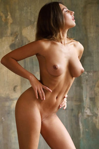 Sexy newcomer Belka bares a smoking hot body with large breasts