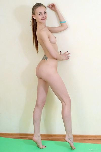 Selin in Yoga from Erotic Beauty