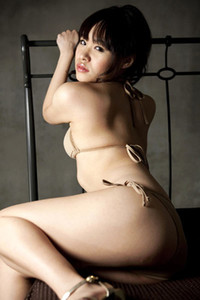 Bloomed allgravure model Fuka Kawai enchanting in Sweet Vanilla