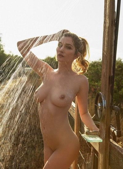Skye Blue in Rest Stop from Playboy