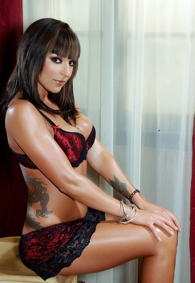 Lily Paige in Bad Girls Ink 5 from Penthouse