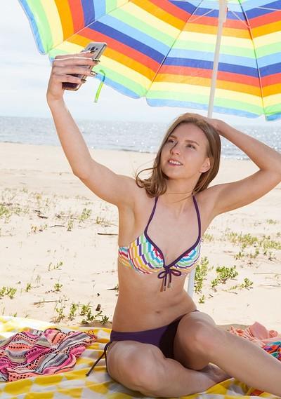 Dominika in Beach Kiss from Showy Beauty