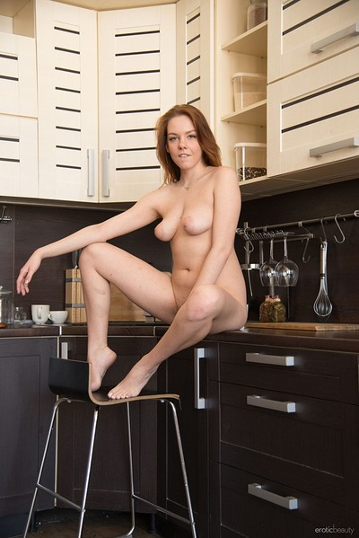 Candy Red in Hot In The Kitchen from Erotic Beauty