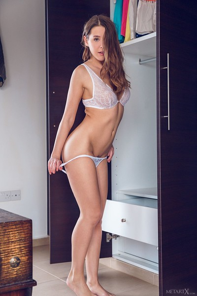 Sybil A in Dress To Impress 1 from Metart X