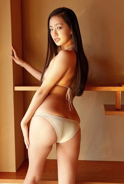 Yuki Mamiya in Too Shy Yuki from All Gravure