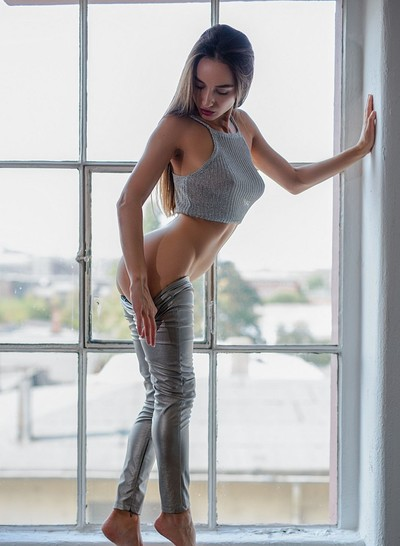 Gloria Sol in Silver Lining from Playboy
