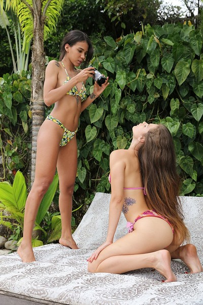 Irene Rouse and Abril in Photographers from Watch 4 Beauty