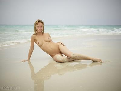 Natalia A in Breathtaking Beach Babe from Hegre Art