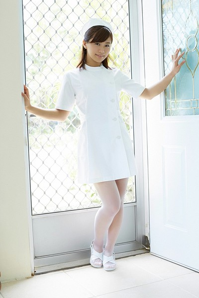 Hitomi Yasueda in Nurse Tease from All Gravure