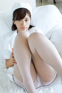 Adventurous and daring angel Hitomi Yasueda exposed in Nurse Tease