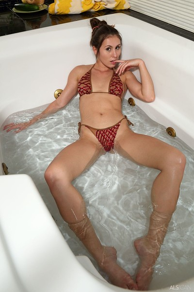 Paige Owens in Bedazzling from Als Scan
