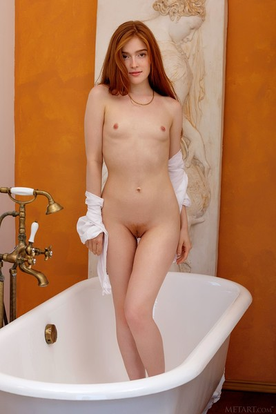 Jia Lissa in My Tub from Met Art