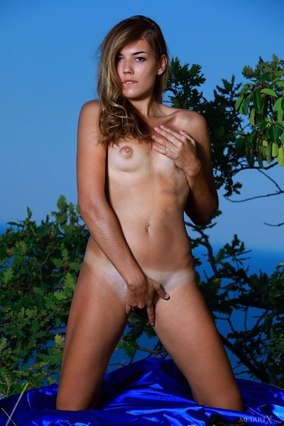 Maddison in Wild Nature from Metart X