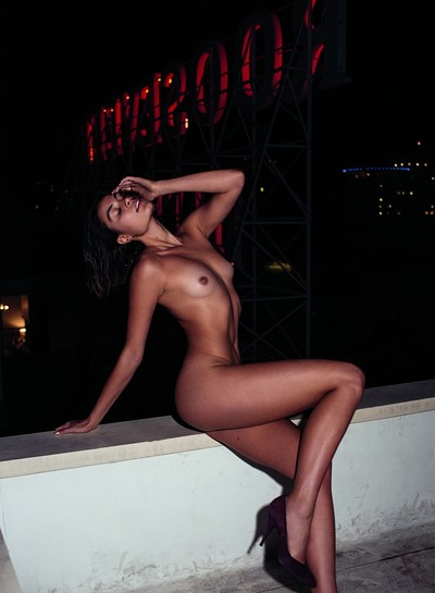 Milena in A Day in the Life from Playboy