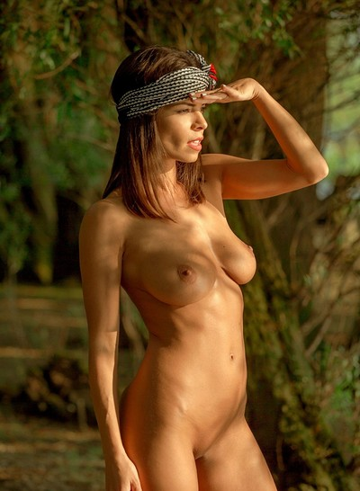 Natalie Costello in Soothing Lake from Playboy