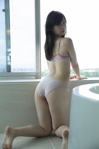 Rina Koike in Cant Stand Without You from All Gravure