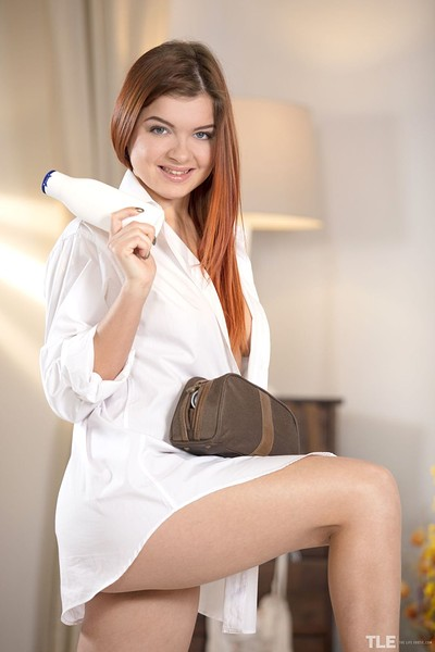 Renata Fox in Pantyhose 1 from The Life Erotic