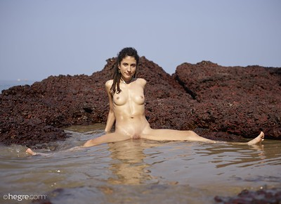 Serena L in Spiritual in India from Hegre Art