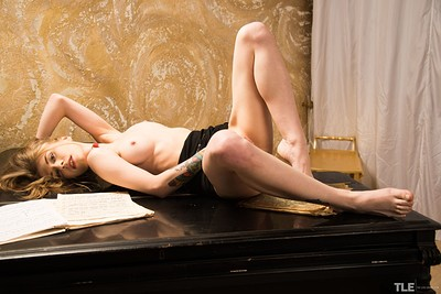 Eva Gold in My Glass Dildo from The Life Erotic